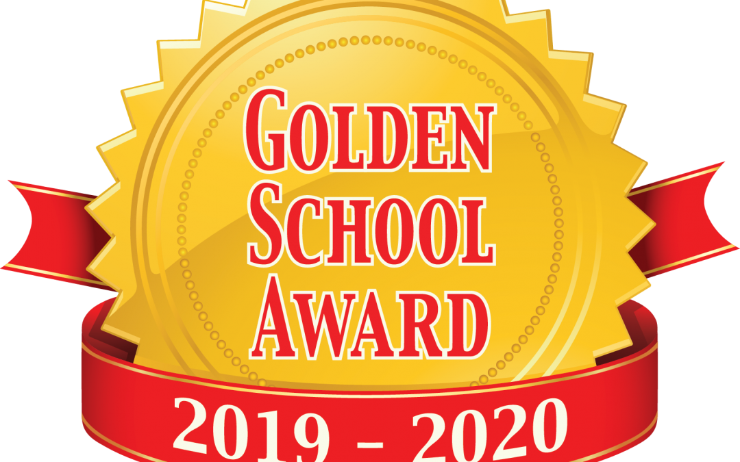 LES Awarded 2019 -2020 Golden School Award