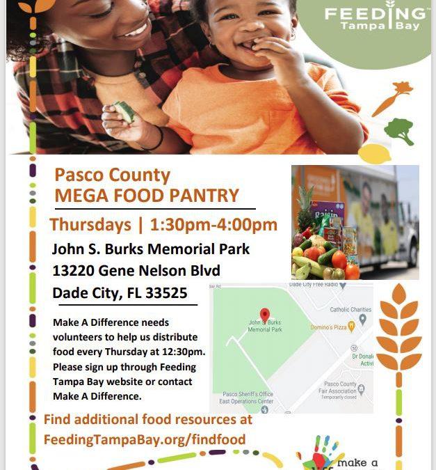 Pasco County Mega-Food Pantry